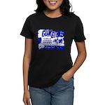 Poster Gun Girls Women's Black T-Shirt