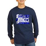 Poster Gun Girls Long Sleeve Blue T-Shirt