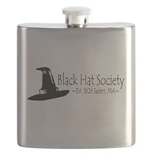 Black Hat Society Flask