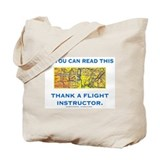 Tote Bag: Flight instructor/checklist