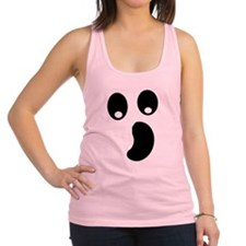 Ghost Face Racerback Tank Top