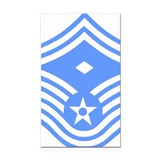 USAFFirstSergeantE8ForBlueMes Rectangle Car Magnet