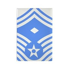 USAFFirstSergeantE8ForBlueMeshCap Rectangle Magnet
