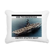 USSTiconderogaMousepad.g Rectangular Canvas Pillow