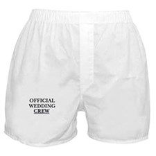 Official wedding crew Boxer Shorts