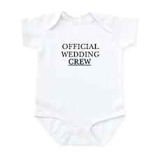 Official wedding crew Infant Bodysuit