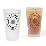 Army colonel rank Pint Glasses