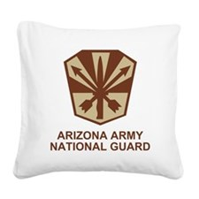 ARNGArizDesertShirt.gif Square Canvas Pillow