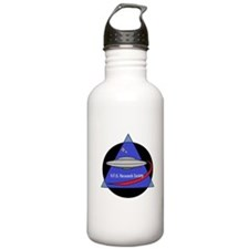 UFO Research Society Logo Water Bottle