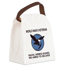 NavyArmedGuardTeeShirt4.gif Canvas Lunch Bag