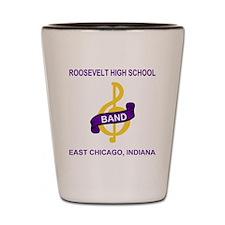 RooseveltBandCrestShirt.gif Shot Glass