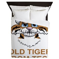 TechOldTigerTeeShirt.gif Queen Duvet