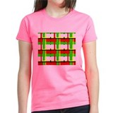 Christmas Plaid Tee