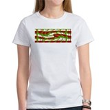 Christmas Plaid swirl Tee
