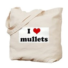 I Love mullets Tote Bag