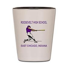RooseveltHighBaseballBatter.gif Shot Glass