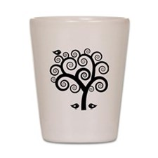 Trees Shot Glass