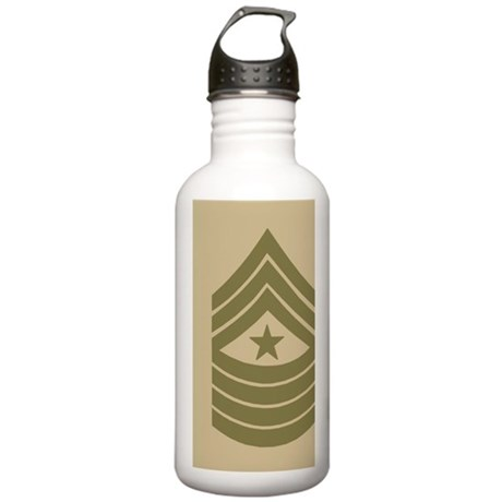 USMCSergeantMajorJourn Stainless Water Bottle 1.0L