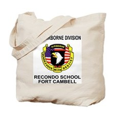Army101stAirborneRecondoShirtBackColor.gi Tote Bag