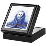Scottish Fold Cat Keepsake Box