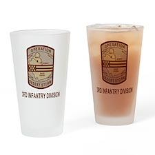 Army3rdInfantryDesertStorm5.gif Drinking Glass