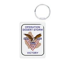 Army3rdInfantryDesertStorm Keychains