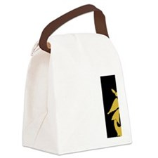 USPHS-BlackCap.gif Canvas Lunch Bag