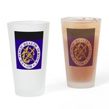 USPHS-GreetingCard.gif Drinking Glass