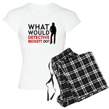 """What Would Detective Beckett Do?"" Pajamas"