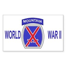 Army-10th-Mountain-Div-WWII-Ca Decal