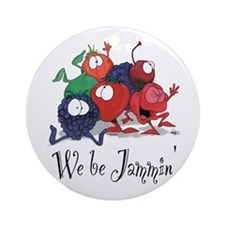 We Be Jammin Kitchen Stuff Ornament (Round)
