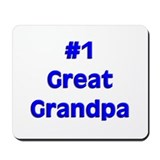 Number One Great Grandpa Mousepad