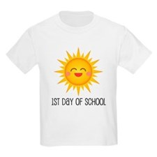 1st Day Of School sun T-Shirt