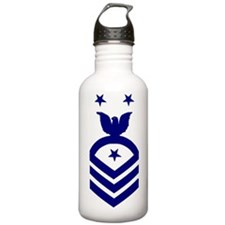 Navy-Command-Master-Ch Water Bottle