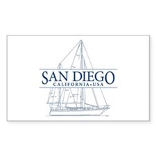 San Diego - Decal