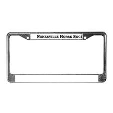 NHS License Plate Frame