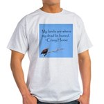 Crazy Horse Quote Ash Grey T-Shirt