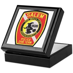 Salem Police Diver Keepsake Box