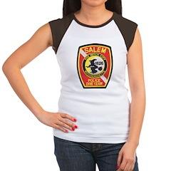 Salem Police Diver Women's Cap Sleeve T-Shirt