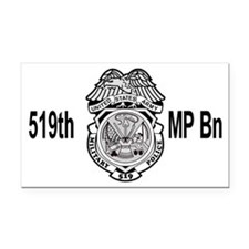 Army-519th-MP-Bn-Cap-4.gif Rectangle Car Magnet