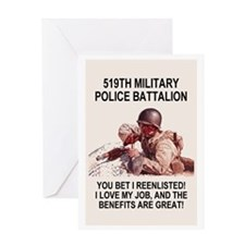 Army-519th-MP-Bn-Poster.gif Greeting Card