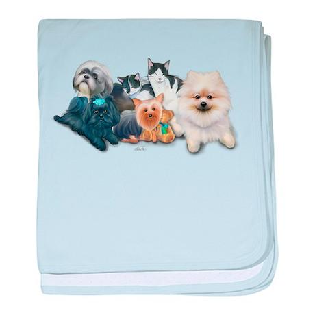 Schofield's Pets baby blanket