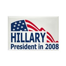 Hillary-2008-Mini-Poster.gif Rectangle Magnet