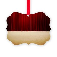 Stage curtains Ornament