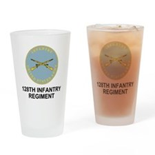 ARNG-128th-Infantry-Shirt-3.gif Drinking Glass