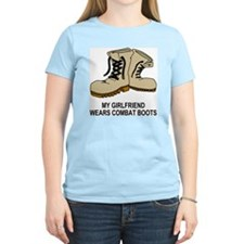 Combat-Boots-My-Girlfriend.g T-Shirt