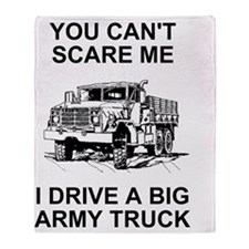 Army-Drive-A-Truck.gif Throw Blanket