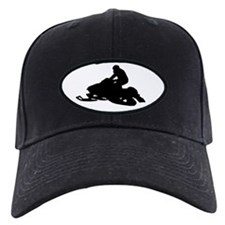 Snowmobile Baseball Hat