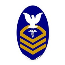 USCG-HSCM-Bonnie.gif Oval Car Magnet