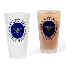 USPHS-CAPT-White-Cap.gif Drinking Glass